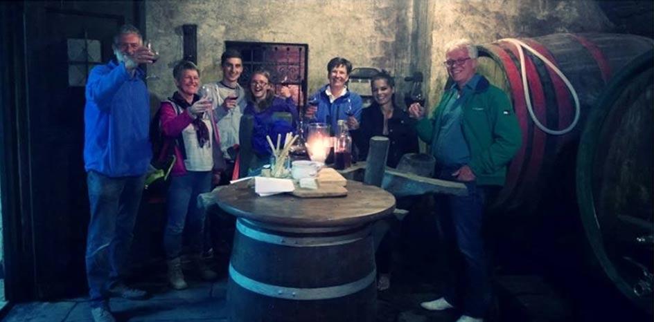 Degustacija v vinski kleti rondic